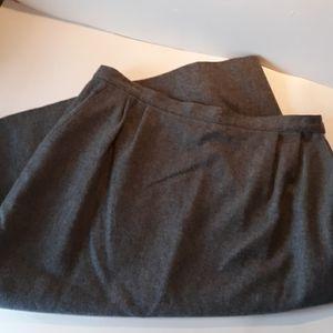 Pendleton's 100% virgin wool skirt vintage retro